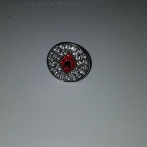 Jewelry - 3rd eye red studded ring